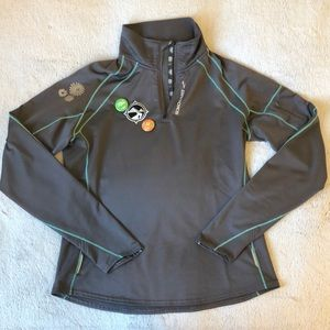 Brooks for Running Warehouse half-zip athletic top